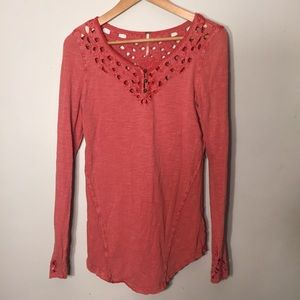 Free People M long sleeve top